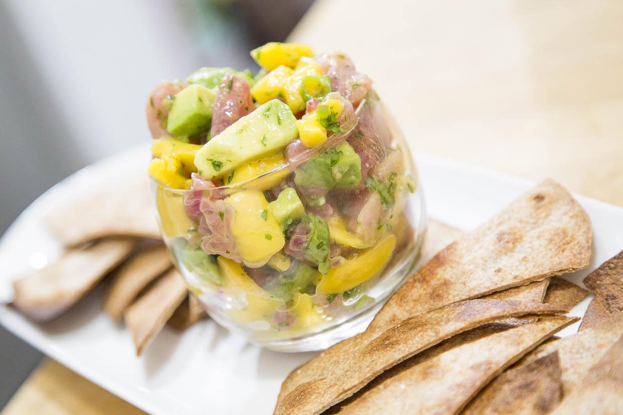 recipe: tuna mango ceviche [1]
