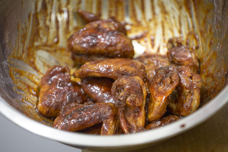 Baked Honey BBQ Chicken Wings