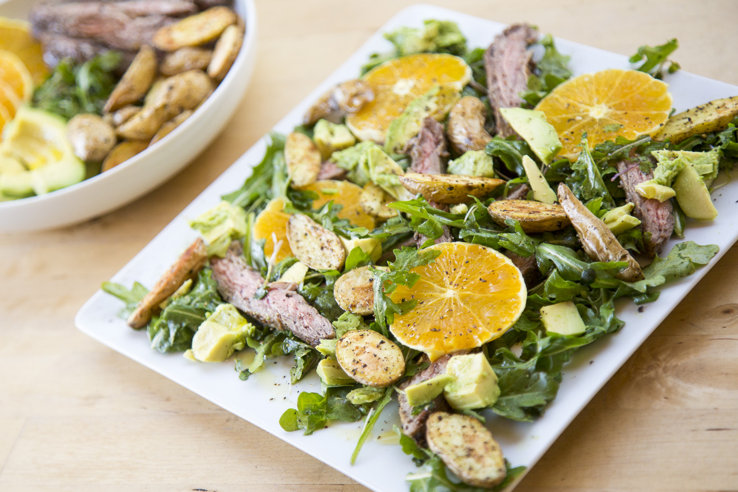 Spring Citrus Steak Salad