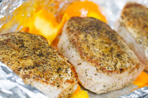 Orange Cumin Pork Chops