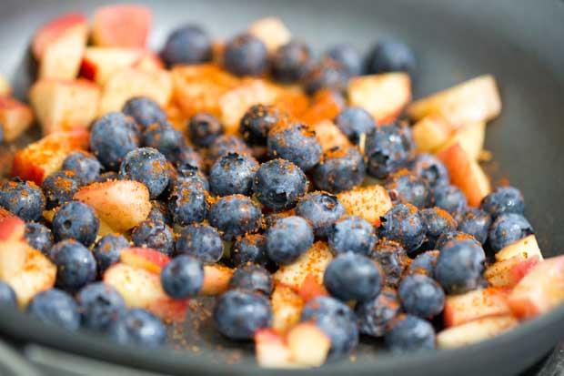 Blueberries & Spice