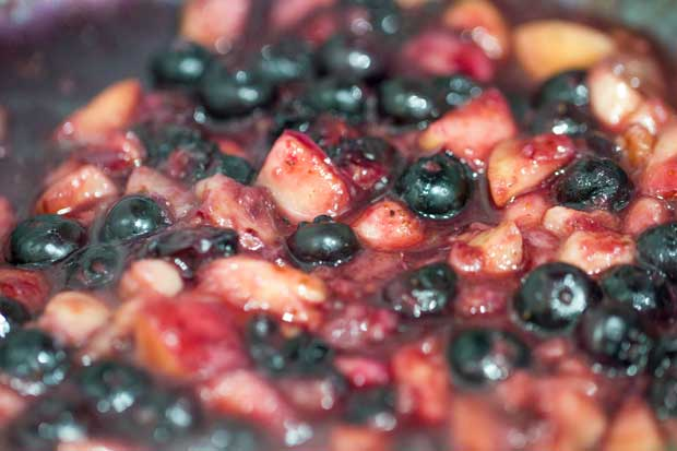 Blueberry Reduction