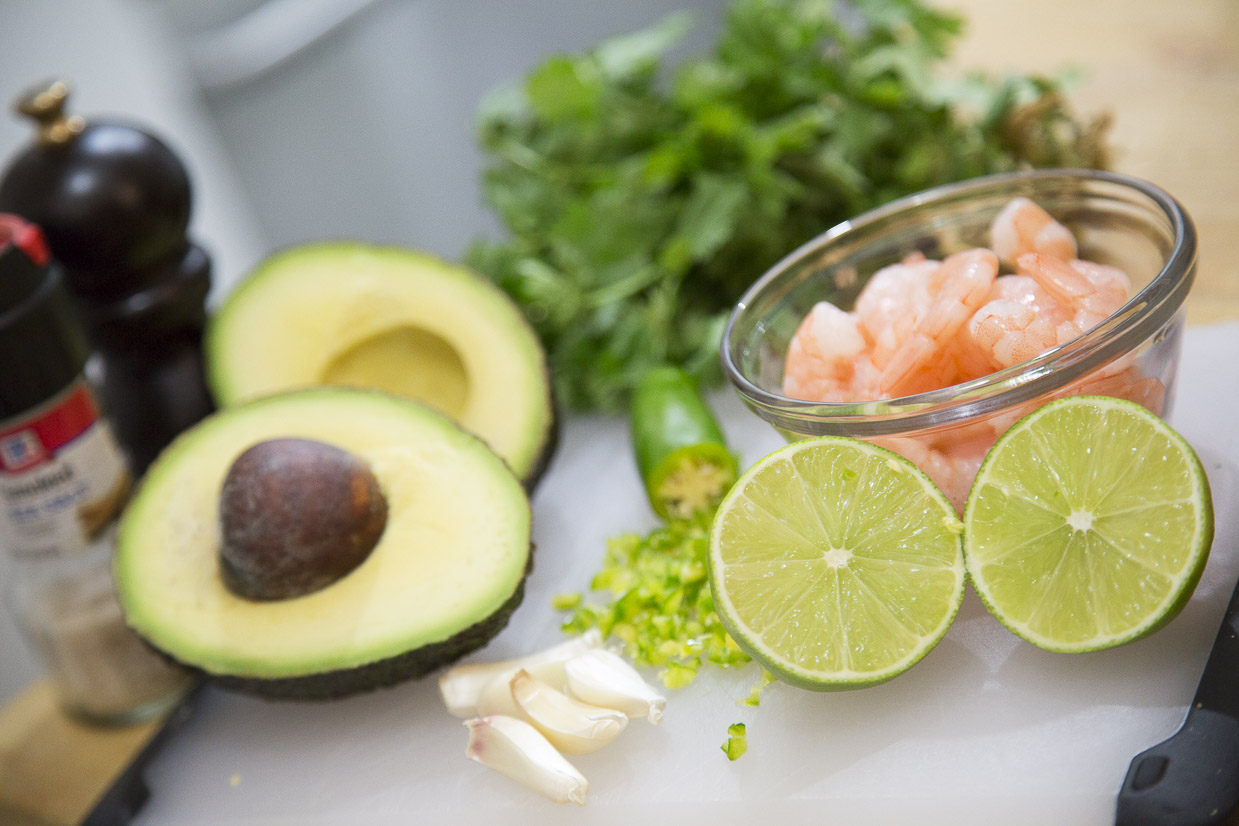 Shrimp Avocado Toast Ingredients