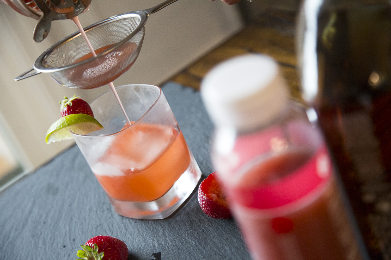 Smooth Strawberry Margarita